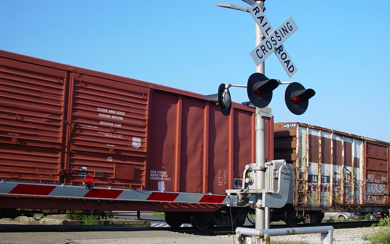 U.S. railroad traffic is down.