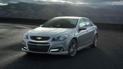The 2015 Chevy SS is a powerful sport sedan, with up to 415 horsepower.