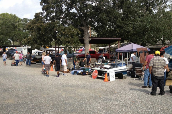 The Giddings Swap Meet features 50 acres of vendors dedicated to automotive products.