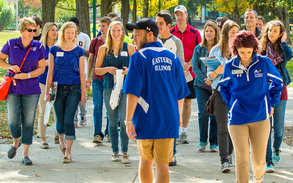 EIU plans welcome ceremony, tours for prospective students
