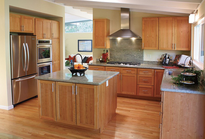 With more economical options, natural stone is overtaking laminates in kitchen countertops.