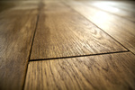 Wood floors are as elegant as they are easy to clean, but they can be pricey.