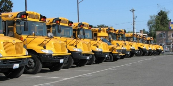 Large school buses 1280