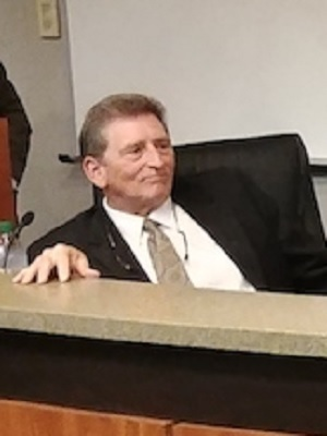 "Louisiana First Circuit Court of Appeals Judge William J. ""Will"" Crain during a forum in September"