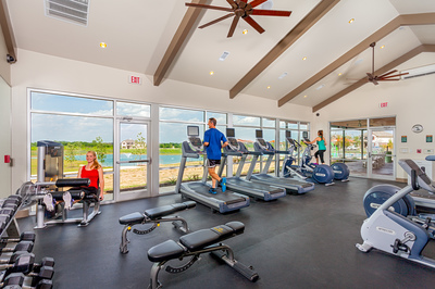 Teravista has two 24-hour fitness centers available to residents.
