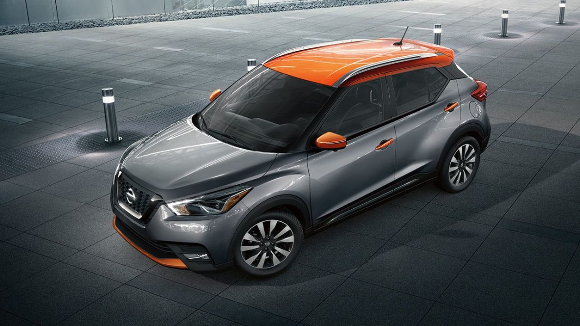The Nissan Kicks is available with two-tone color schemes.