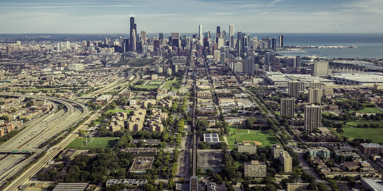 Chicago suburbs view 3