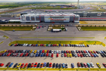 Corvettes arrive at the Circuit of the Americas for the 2015 Corvette Invasion. This year's show will be on July 23.