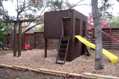 Contemporary Playground Design Lends Itself Well To Modern Austin  Neighborhoods.