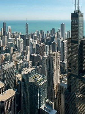 Large chicagodowntownaerial