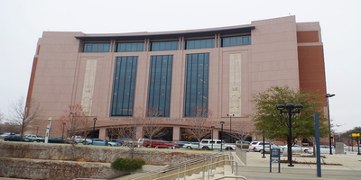 Tom Vandergriff Civil Courts Building in Fort Worth, Texas