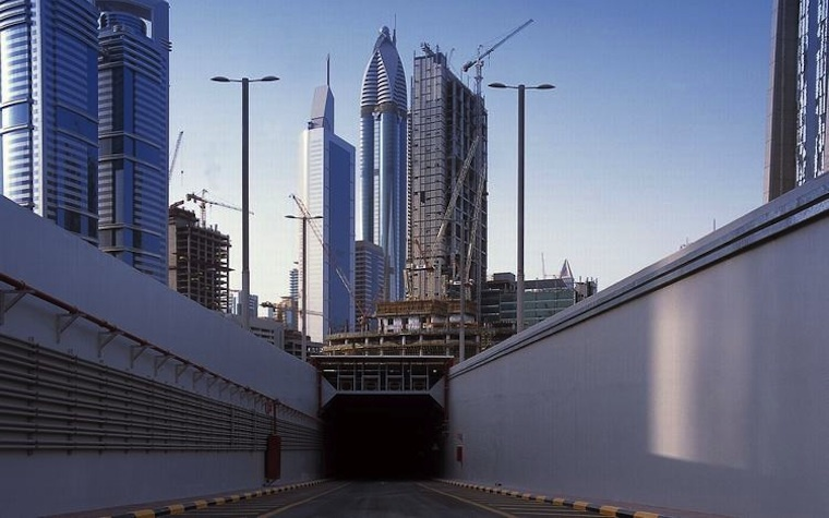 Dubai International Financial Center wins energy efficiency award.