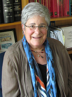 Judy Berkman, managing attorney with Regional Housing Legal Services
