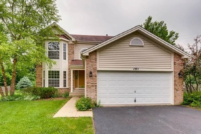 This three-bedroom home, 1371 Clavey Lane in the Gurnee/Grandwood Park area, has a property tax bill of $8,171.