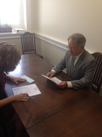 Charleston businessman and former Director of Economic Development for the city of Charleston John Tecklenburg recently filed for the 2015 Charleston mayoral election.
