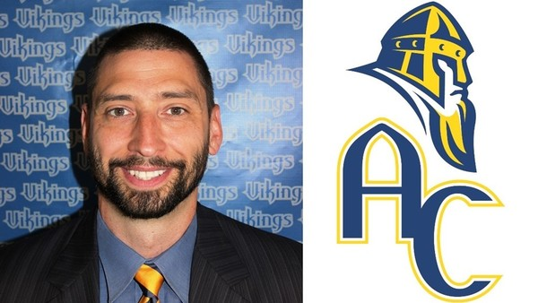 Mark Lau is the first head coach of the Augustana men's volleyball team.