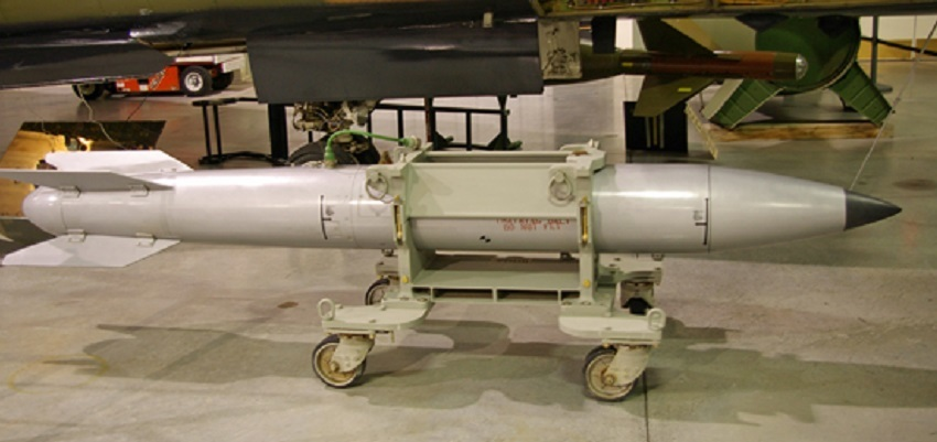 a B61 bomb, like the ones housed in Turkey
