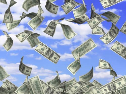 Large moneymoney
