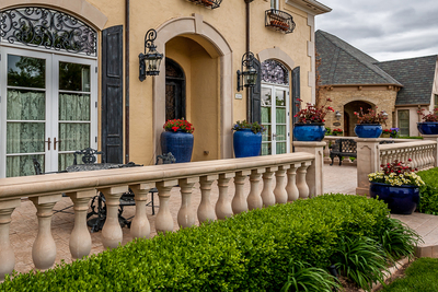 The front porch is the first thing noticed when visiting a home.