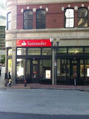 Santander summer street boston