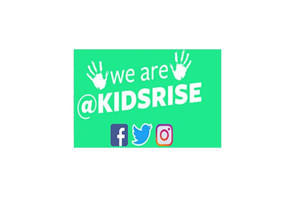 The #kidsrise social media pages help others learn about positive