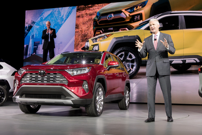 The RAV4 has been in high demand with Toyota doubling its production.