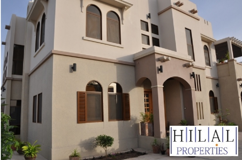 A four bedroom villa is available in Al Hail North