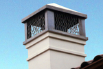 Chimney caps are a necessity to protect against water damage, birds and small animals.