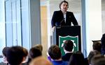 Hain Celestial Group CEO Irwin Simonrecently spoke to business students at Tulane University.