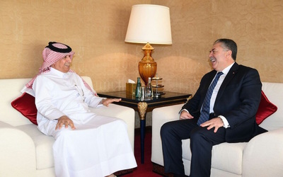 Qatar's minister of foreign affairs meets with Tunisian secretary of state to discuss bilateral relations
