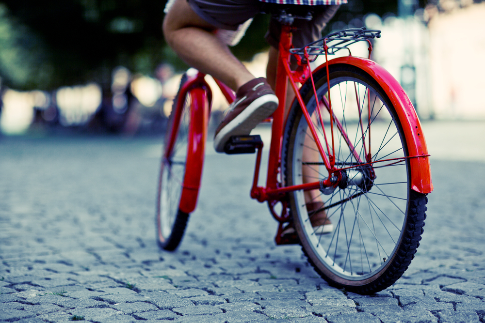 Many public transit trips begin or end with a bike ride or long walk.