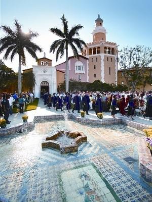 Photo of Stetson Law School graduation