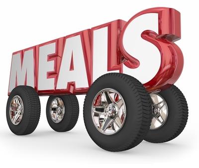 Medium meals on wheels