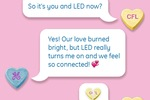 General Electric takes a literally light-hearted approach to changing the light bulb.