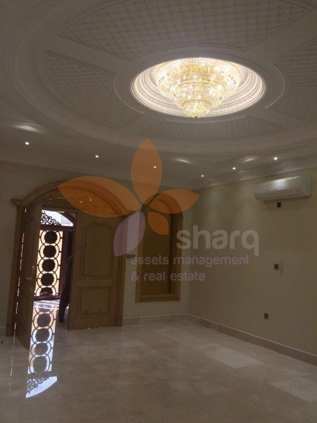 Just inside the available luxurious 8 bedroom villa in Al Thumama