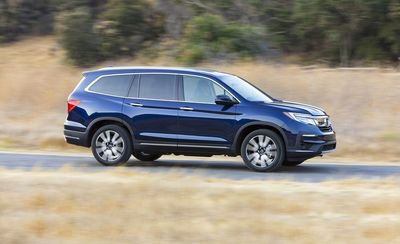 Aside from the spacious passenger room, the Honda Pilot also has enough room for your cargo.