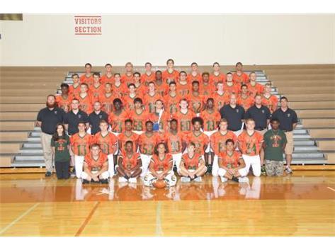 Members of the Plainfield East High School football team