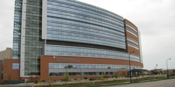 Large advocate lutheran general hospital