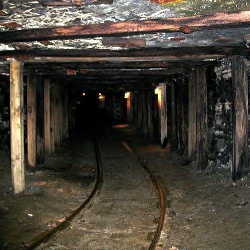 Large mineentrance