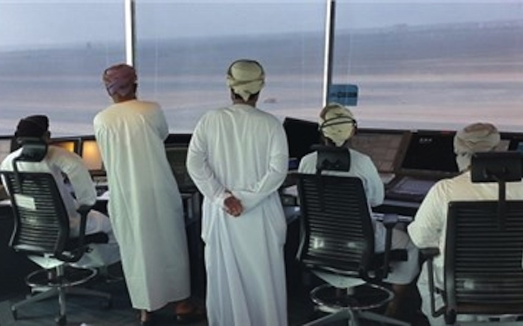 The new Salalah Airport has a completely updated and modernized air traffic control system.