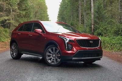 In addition to its eight standard airbags, the 2019 Cadilalc XT4 has an available Safety Alert Seat.