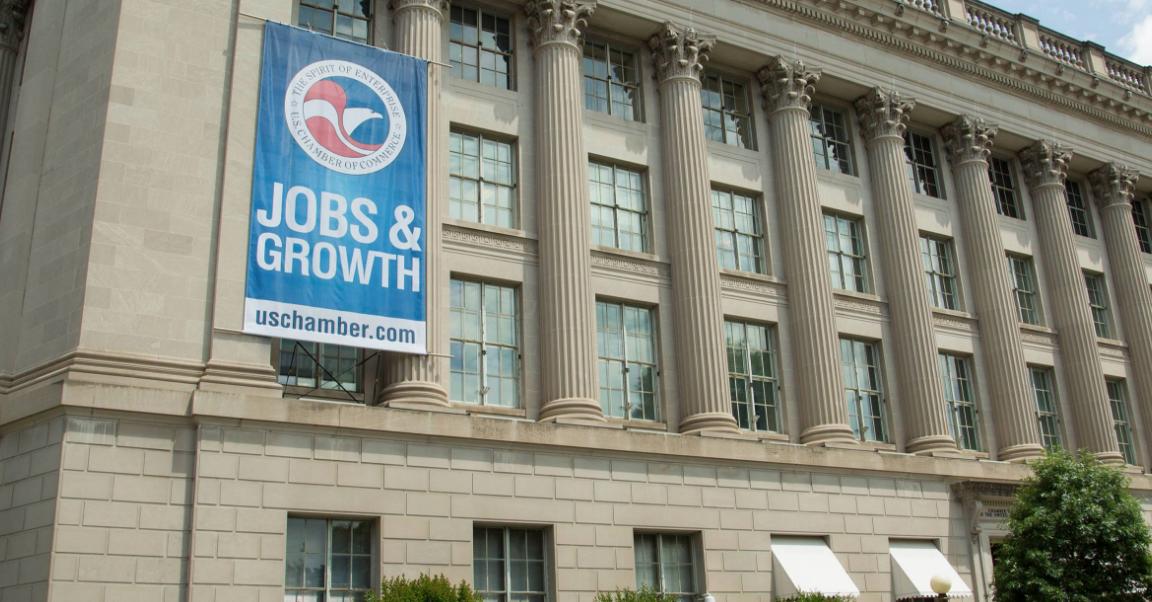 The U.S. Chamber of Commerce Building, Washington, DC