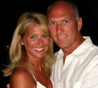 Current House GOP fundraising consultant Julie Cole Chirico (L), with her husband, Naperville Mayor Steve Chirico