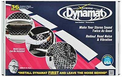 Dynamat Thick Self-Adhesive Sound Deadener with Xtreme Bulk Pack