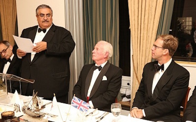 Bahrain's minister of foreign affairs visits United Kingdom