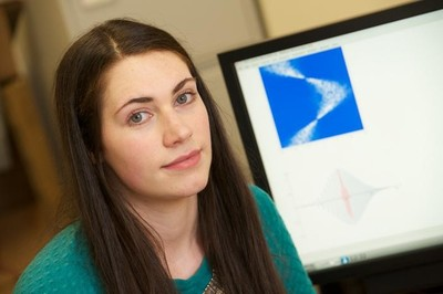 Researcher Katherine Tant led a study that found sound waves can be used to detect cracks in pipes, airplanes and nuclear power plants, among other structures.