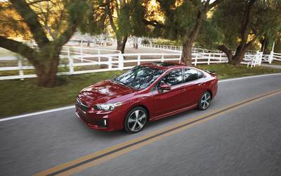 The 2017 Subaru Sedan offers more volume than any vehicle in its class.