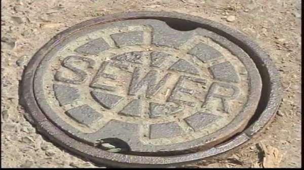Large sewer