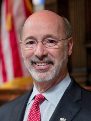 Pennsylvania Gov. Tom Wolf boosted the minimum wage for state workers.