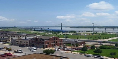 View of Alton, Illinois